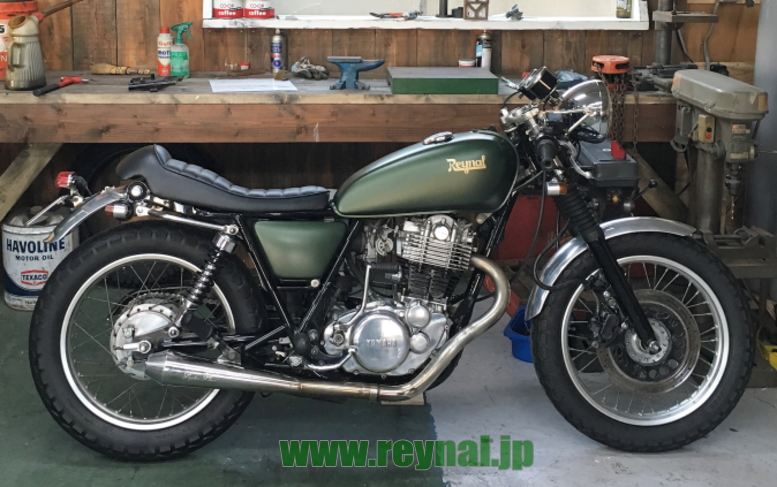 SR400cafe.ttgreen